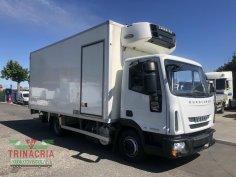 Trinacria-Autoveicoli-S.r.l.-Autocarro-Camion-Furgone-Acireale-Catania - Iveco 100E18 furgone frigo e sponda 2010 tel 626