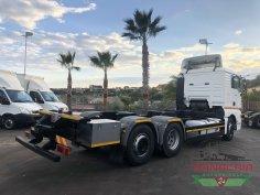 Trinacria Autoveicoli S.r.l. Autocarro Camion Furgone Man Tga 26.430 3 ASSI casse mobili 2005 (4)