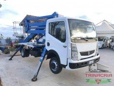 Trinacria Autoveicoli S.r.l. Autocarro Camion Furgone Renault Maxity Cestello Isoli 20 metri
