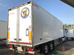 Trinacria Autoveicoli S.r.l. Autocarro Camion Furgone Trattore Margaritelli Semirimorchio 2 assi frigo e sponda 2010 (4)