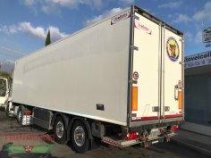 Trinacria Autoveicoli S.r.l. Autocarro Camion Furgone Trattore Margaritelli Semirimorchio 2 assi frigo e sponda 2010 (5)
