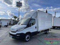 Trinacria Autoveicoli S.r.l. Autocarro Camion Furgone Iveco Daily 35C16 Furgone il playwood e sponda automatico Anno 2019