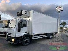 Trinacria Autoveicoli S.r.l. Autocarro Camion Furgone cassone frigo Iveco Eurocargo 140E22 FRIGO ANNO 2011