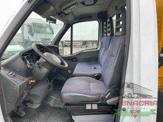 Trinacria Autoveicoli S.r.l. Autocarro Camion Furgone Iveco 35C15 gru e cassone fisso 2003 (10)