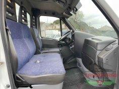 Trinacria Autoveicoli S.r.l. Autocarro Camion Furgone Iveco 35C15 gru e cassone fisso 2003 (12)