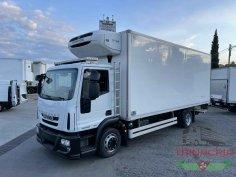 Trinacria Autoveicoli S.r.l. Autocarro Camion Furgone Iveco 120E22 frigo e sponda pneumatico anno 2014