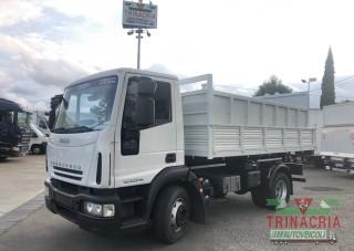 Trinacria Autoveicoli S.r.l. Autocarro Camion Furgone Acireale Catania Iveco Eurocargo140E22 scarrabile bob12 ton nuovo 2010